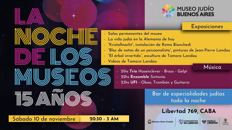 Nuit Blanche Museo Judio Buenos Aires
