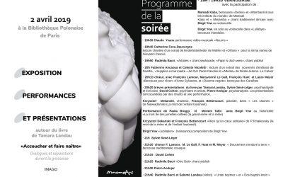 Bibliothèque polonaise de Paris – avril 2019