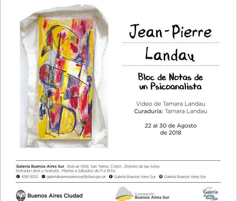 Bloc de Notas de un Psicoanalista, Galería Buenos Aires Sur